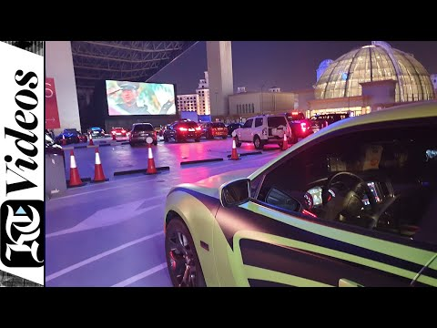 KT tries out Dubai's new drive-in cinema