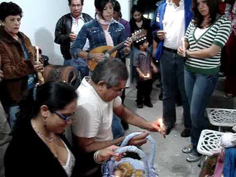 Paradura Niño. Tradición Mérida Venezuela.