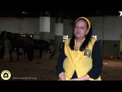 Equinoterapia AAAEPAD - Maria de los Angeles