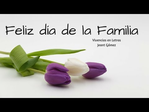 ¡¡Feliz día de la Familia!!