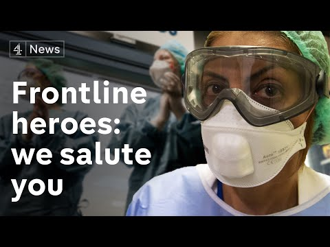 These are the heroes risking their life on the frontline of Coronavirus