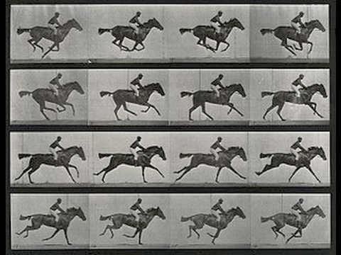 Eadweard Muybridge's Galloping Horse