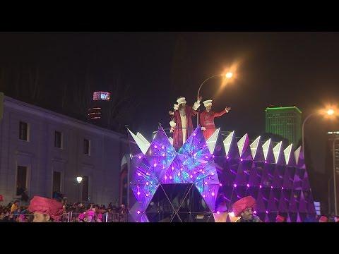 Cabalgata de los Reyes Magos en Madrid 2017