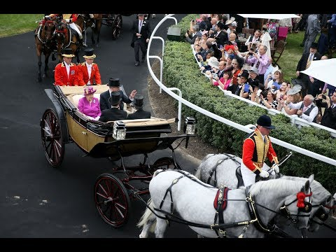 Then and Now: The Queen's Horses