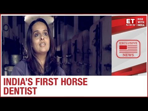 Meet India's First Horse Dentist | Dr Akruti Choksi To ET NOW | Women's Day Special