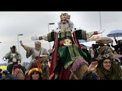 Spain celebrates Three Kings' Day