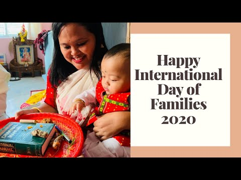 Happy International Day of Families,2020 and Family is not about only blood,My wishes to Youtube fam