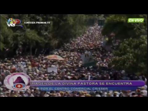 EN VIVO - Procesión de la Divina Pastora desde Barquisimeto