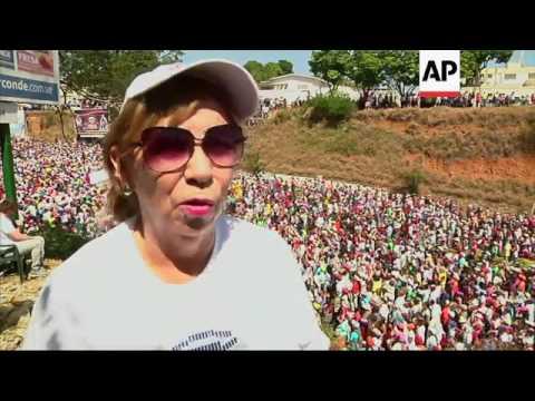 Millions honour DIvina Pastora in Venezuela