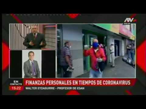 Finanzas personales en tiempos de coronavirus