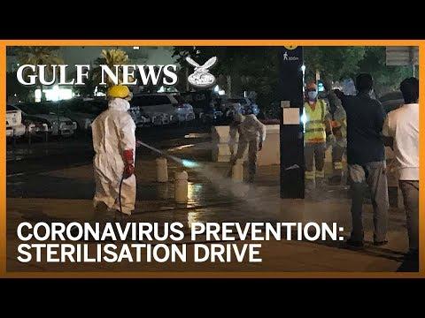 Coronavirus prevention: Dubai starts massive COVID-19 sterilisation drive