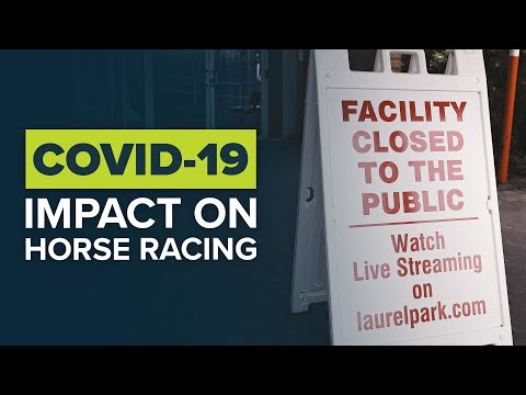 CORONAVIRUS: THOROUGHBRED HORSE RACING COMMUNITY REACTS TO COVID-19