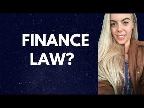 Finance Law | Accounting Law | Economics Law